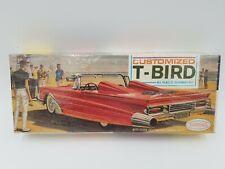Aurora Customized T-Bird All Plastic Model Kit - No.548 - ©1963  Factory Sealed
