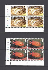 ASCENSION ISLANDS 2013 SG 1182/5 MNH Blocks of 4 Cat £36