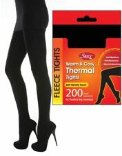Polyester Thermal footed Hosiery & Socks for Women