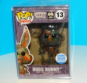 Bugs Bunny Art Artist Series Funko Shop Exclusive Looney Tunes 80th Bugs  #13