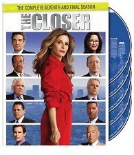 The Closer ~ Complete 7th Seventh Season 7 Seven ~ BRAND NEW 5-DISC DVD SET