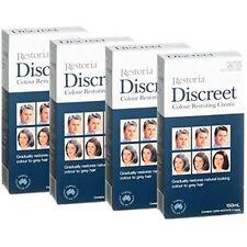4 BOXES Of Restoria Discreet Colour Restoring Cream 150ml