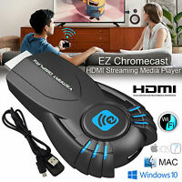 Ezcast Chromecast Digital HDMI Streamer HD Media Chrome Cast for Youtube/Netflix
