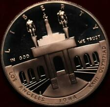 Uncirculated Proof 1984-S Los Angeles Olympic Silver Dollar