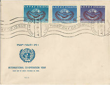 Ethiopia: 1965 Year of International Co-operation  FDC