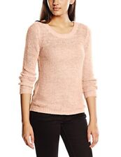Only Onlgeena XO L/s Pullover KNT Noos Pull Femme Rose (strawberry Cream) 36