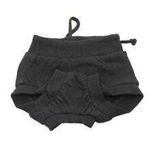 Reusable Female Pet Dog Puppy Diaper Sanitary Pant Panty Underwear Black M