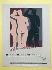 Puerto Rico 1983, Carlos Davila Rinaldi, GALERIA Fridman, serigrafia