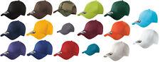 New Era 39THIRTY Flex Structured Stretch Hat Blank Cap - Black, White, Navy, Red