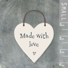 dream big small mini wood heart hanging wall sign love forever,smile always