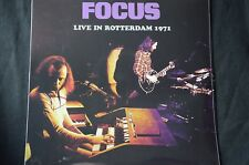"Focus Live In Rotterdam 1971 Limited Edition 500 12"" vinyl LP New + Sealed"