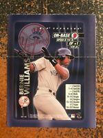 Bernie Williams Yankees 2000 MLB Showdown RARE HAND CUT PROMO POSTER CARD