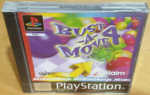 BUST A MOVE 4 for SONY PS1 PLAYSTATION 1 PAL NEW & FACTORY SEALED
