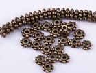 100/1000Pcs Tibetan Silver Daisy Flower Spacer Beads Jewelry Findings DIY 4/6mm