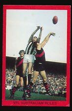 1973 Sunblest Sports Action Series Tip Top Bread Collingwood Essendon card r