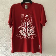 Mens Official Team GB T Shirt By Adidas / Size Large / Top Quality