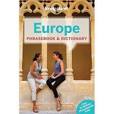 Lonely Planet Europa Phrasebook & Diccionario por Lonely Planet (de Bolsillo, 2015)