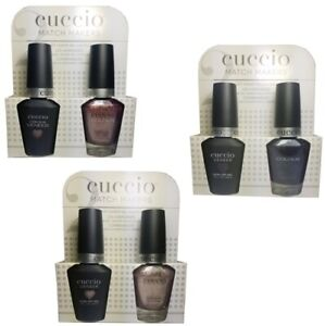 Cuccio Matchmakers - Lacquer & Gel - CHOOSE ANY - Colours A-Z - 13mL / 0.43oz