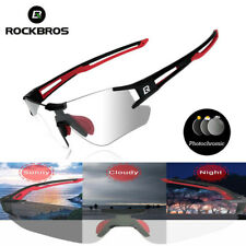 ROCKBROS Cycling Sports Sunglasses Photochromic Running Eyewear UV400 Glasses