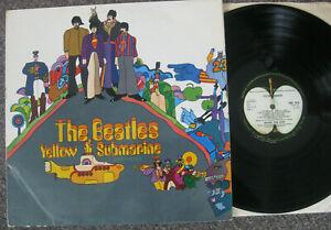 UK Beatles LP Yellow Submarine 1969 First Mono PMC 7070 Sold in UK.
