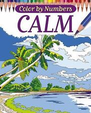 Color By Numbers - Calm (Chartwell Coloring Books), Woodroffe, David