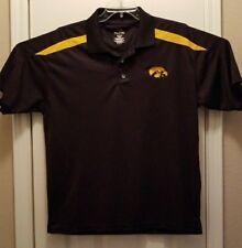 ProEdge Mens Large Iowa Hawkeyes Collared Short Sleeve shirt