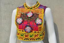 Kuchi Afghan Tribal Fusion Choli Belly Dance Handmade Stitchable Crop Top