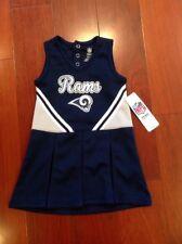 Children's NFL  Size 3T Los Angeles Rams Cheer Leader Dress