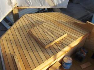 10 board feet of all heartwood, marine grade teak lumber, kiln dried, true TEAK