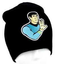 Spok Star Trek Beanie Alternative Clothing Knit Cap Live Long and Prosper Captai