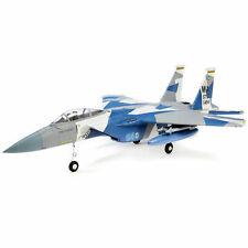 E-flite Rc Airplane F-15 Eagle 64mm Edf Bind N Fly Basic with As3X and Safe