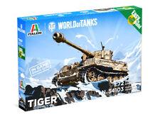 Italeri Pzkfw Vi Tiger I World Of Tanks 1/72 Military Kit - W34103