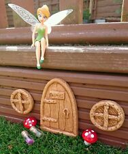 Garden Fairy Door and 2 Round Windows
