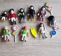 Playmobil Mixed Bundle 14 Pieces Road Signs Figures