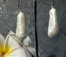 Handmade Natural Pearl Fine Earrings
