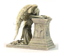 Gothic Weeping Angel Statue Christian Sculpture Figurine - GIFT BOXED