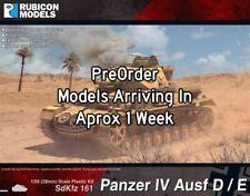 Rubicon Models Panzer IV Ausf D/E (1:56th scale / 28mm)