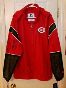 Cincinnati Reds Starter Full Zip Gust Jacket