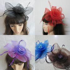 Fashion Wedding Bridal Feather Flower Hair Charm Pins Hair Clips Accessory Cheap