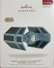 2017 Hallmark Keepsake Star Wars Darth Vader's Tie Fighter Storytellers Ornament