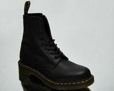 Dr. Martens 1460 Pascal Virginia Black Unisex Men's Women's Leather Shoes Boots