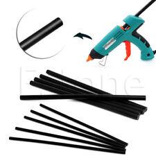 7/11mm Mini Glue Sticks For Hot Melt Gun General Purpose Black Adhesive 5 Pcs