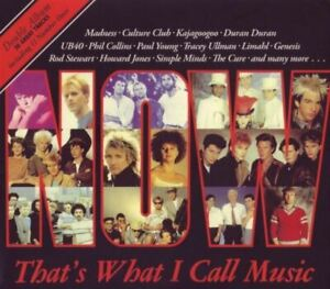 NOW THAT'S WHAT I CALL MUSIC VOLUME 1 various (2X CD, album, limited edition)