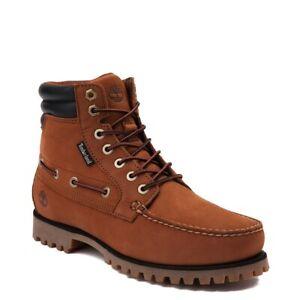NEW Mens Timberland Oakwell Boot Saddle Full-Grain Leather