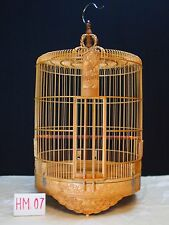 Asian Bamboo Bird Cage HM-07