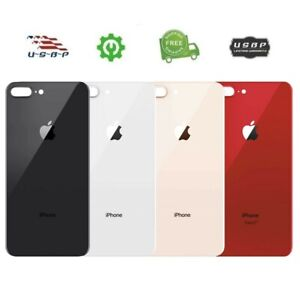 OEM Replacement Battery Back Glass Cover for iPhone 8 Plus Big Hole
