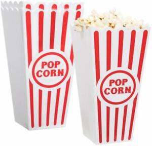Plastic Popcorn Containers - Set of 4 …