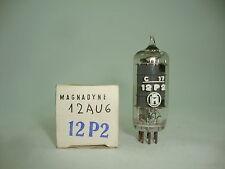 12P2 TUBE.  12AU6 TUBE. MAGANADYNE BRAND TUBE. NOS / NIB. RCB32