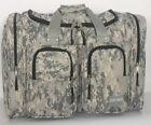 "ACU DIGITAL CAMO  Duffle Duffelbag Free Shipping Small 19"" Gym Bag Hunting Sport"