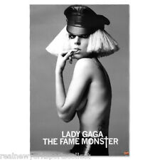 2011 LADY GAGA CONCERT TOUR POSTER THE FAME MONSTER NEW HARD TO FIND NEW